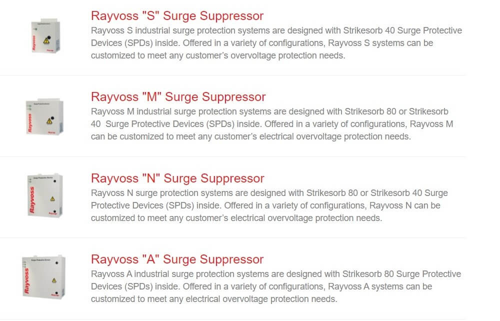 Rayvoss Ürünleri