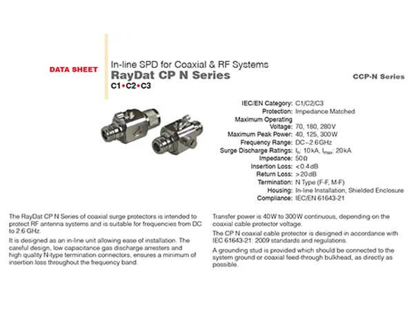 Raydat CP N Serisi Uydu hatları